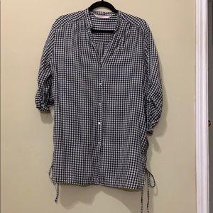 Zara button up shirt.